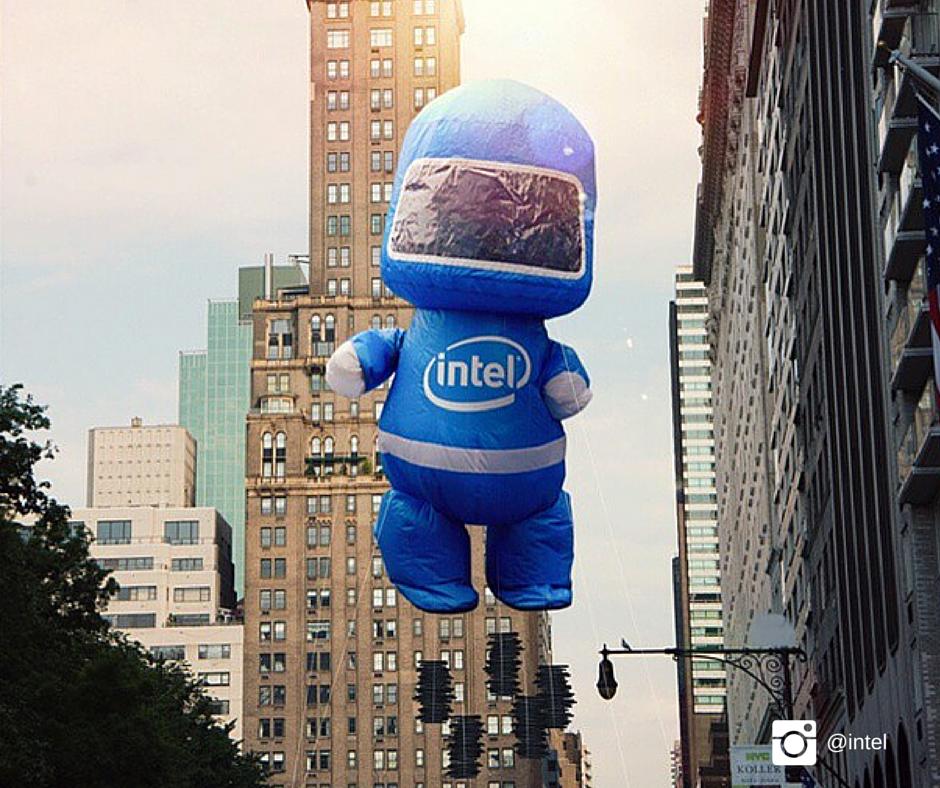 Intel Instagram photo